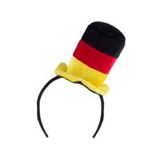 Mini Hoed Duitsland Diadeem