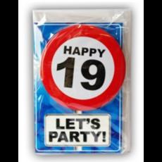 Happy Age Kaart 19 Jaar