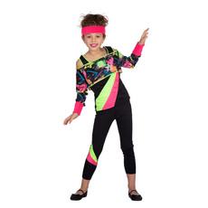 Retro Aerobic Outfit Meisjes