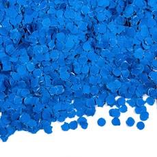 Confetti koningsblauw 100gr