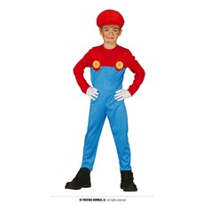 Monteur kostuum Mario Kind
