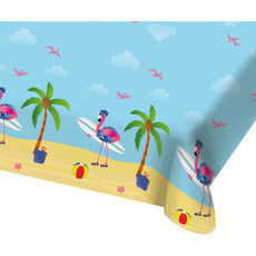 Tafelkleed Beach Flamingo (130x180 cm)