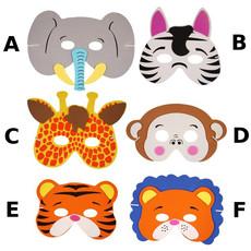 Jungle dierenmasker kind