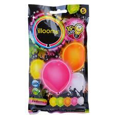 LED Ballonnen Multikleur Sunny (5st)