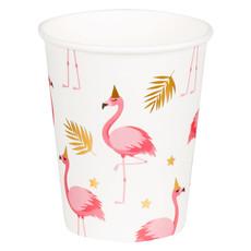 Feestbekers Flamingo (6st)