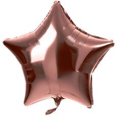 Folieballon Ster Brons Shiny (48cm)