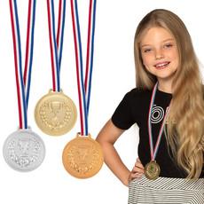 Medailles Goud, Zilver en Brons (3st)