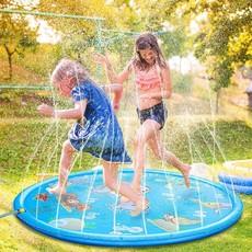 Water Splash Zwembad Mat Opblaasbaar