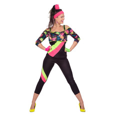 Retro Aerobic Fitness Outfit
