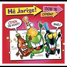 Verjaardagskaarten 'Hè Jarige! Doe 's Open!'
