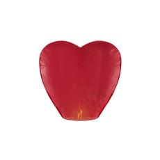 Wensballon Rood Hartvormig