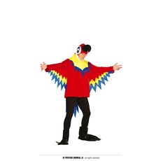 Papegaai Kostuum Rico Heren