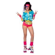 Retro Disco Roller Skate Outfit Dames
