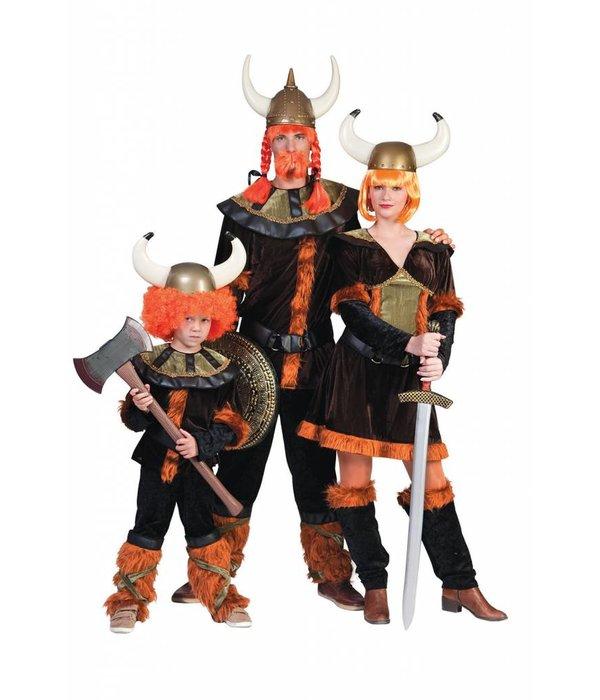Scandinavische viking pak vrouw elite