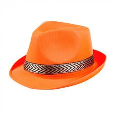 Hoed neon oranje