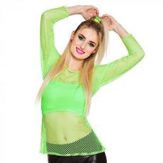 Visnet shirt groen neon