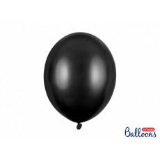 Metallic Ballonnen Zwart - 50 Stuks