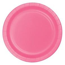 Feestbordjes Candy Roze 23cm (8st)