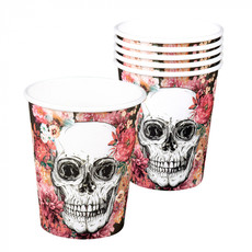 Bekertjes Day Of The Dead (6st)