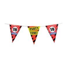 Party Vlaggetjes - 18 Jaar