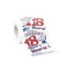 Toiletpapier Bedrukt 18 Jaar