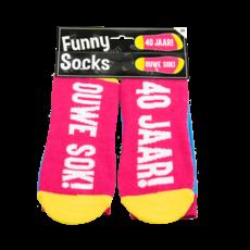 Funny Sokken 40 jaar