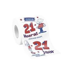 Toiletrol bedrukt 21 jaar