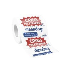 Toiletpapier Bedrukt Crisis
