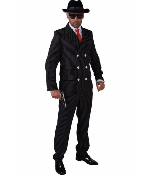 Gangster pak man eco zwart