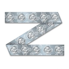 Afzetlint 25 Jaar Zilver (12m)