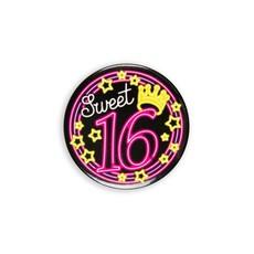 Neon Button Sweet 16 (5,5cm)