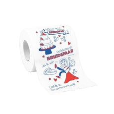 Toiletpapier Bruidspaar Getrouwd