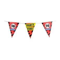 Party Vlaggetjes - 16 Jaar