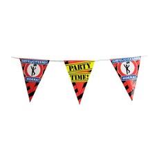 Party vlaggetjes - Gefeliciteerd hoera