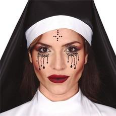 Gezichtsjuwelen Stickers Halloween