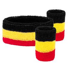 Zweetbanden set Belgie