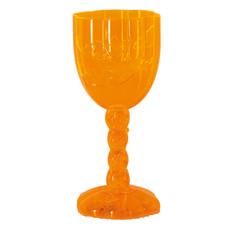 Halloween Wijnglas Oranje