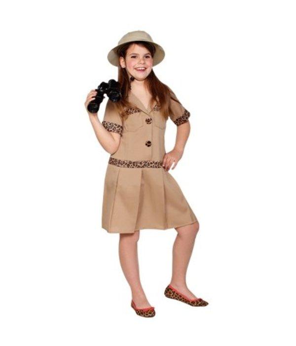 Safari meisje jurk