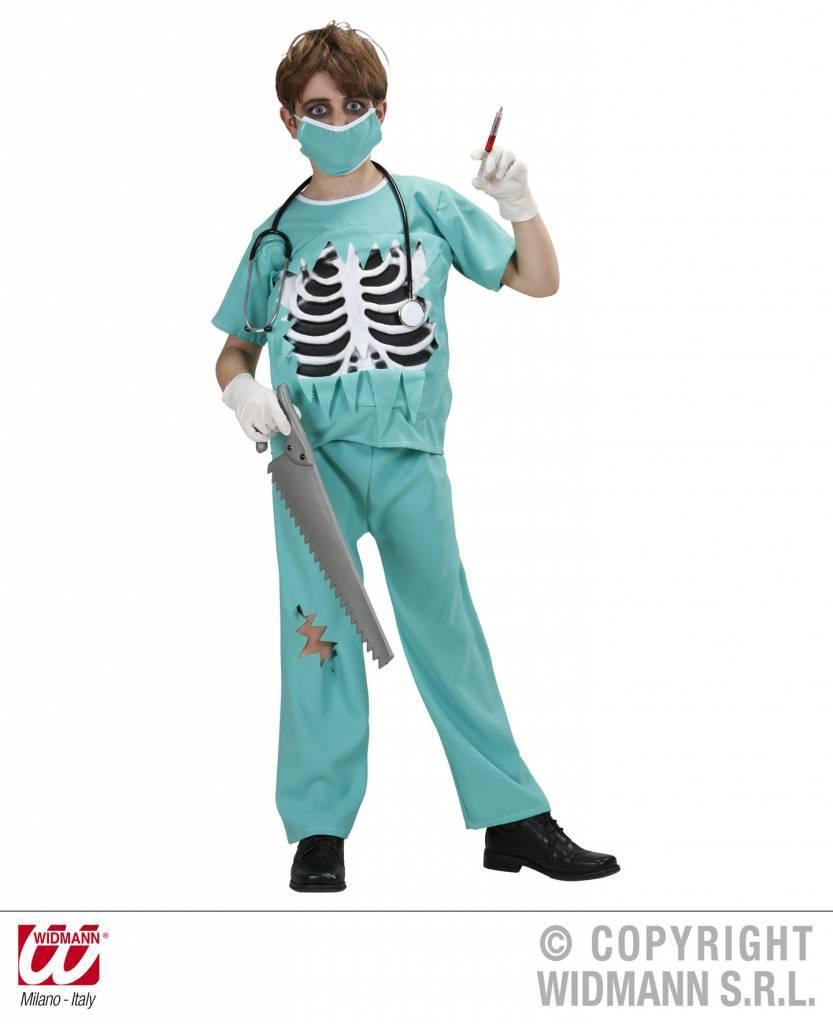 Halloween Verkleedkleding Kind.Chirurg Halloween Kostuum Kind