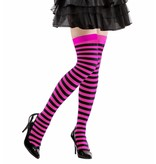Kniekousen roze/zwart