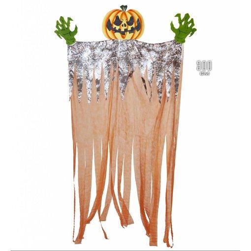 Grote Pompoen Halloween decoratie 140cm