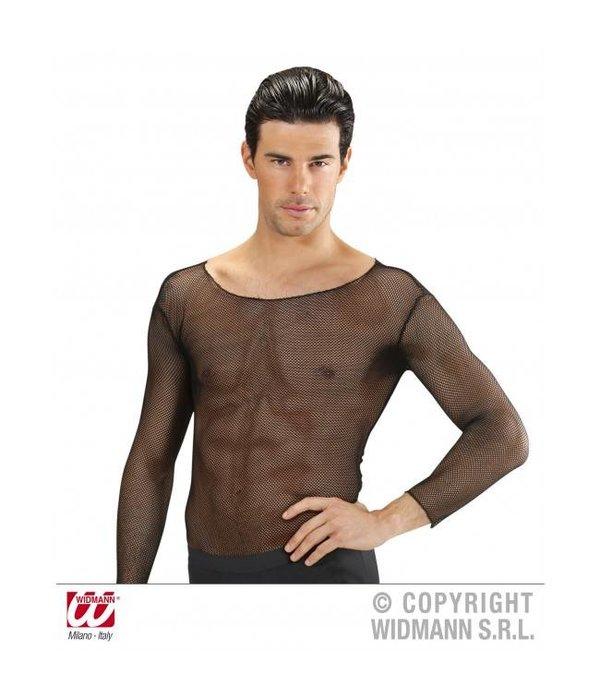 heren visnet shirt zwart feestbazaar nlheren visnet shirt zwart heren visnet shirt zwart