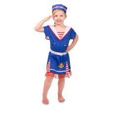 Marine meisje kostuum kind