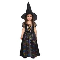 Heksen kostuum mini
