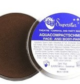 Aqua compactschmink donkerbruin 16gr nr.25