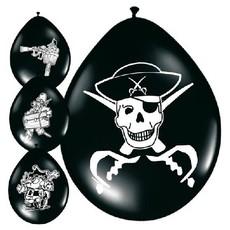 Ballonnnen piraat (8 st)