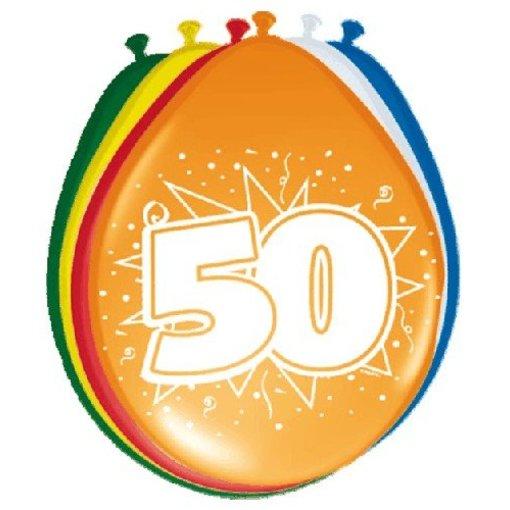 Ballonnen '50' (8 st)