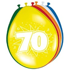 Ballonnen '70' (8 st)