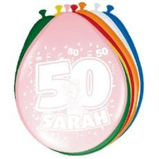 Ballonnen Sarah (8 st)