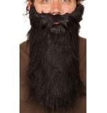 Baard zwart lang